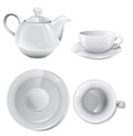 Coffee set or tea set Royalty Free Stock Photography