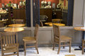 Coffee shop a with nice seating area Royalty Free Stock Photo