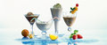 Coffee smoothies Stock Images
