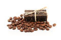 Coffee soap Stock Images