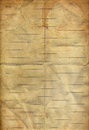 Coffee stained on old folding notes paper Royalty Free Stock Photos