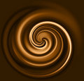 Coffee swirl Royalty Free Stock Images