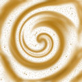 Coffee swirl background Stock Photography