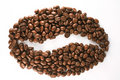 Coffee symbol Arkivfoton
