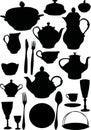 Coffee and tea dishware