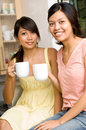 Coffee/Tea with friends Royalty Free Stock Image