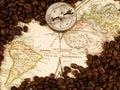Coffee trading Stock Photo