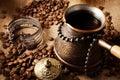 Coffee turk. Royalty Free Stock Photo