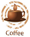 Coffee vector banner Stock Photo