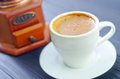 Coffee in white cup fresh Royalty Free Stock Photography