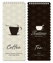 Coffeehouse menu Royalty Free Stock Images