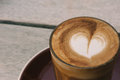 Coffees, flat white and piccolo Royalty Free Stock Photo