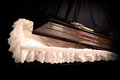 Coffin Royalty Free Stock Photo