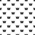 Cog crown pattern vector