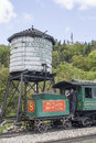 Cog train  at Mount Washington Stock Photos