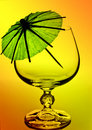 Cognac glass. Stock Images