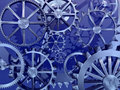 Cogs gears machinery wheels Stock Photography