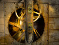 Cogs gears old water mill the in salford in surrey uk picture taken th may Stock Images
