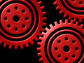 Cogs illustration Royalty Free Stock Image