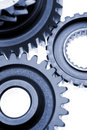 Cogwheels closeup Royalty Free Stock Photo