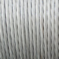 A coil of Aluminum wire Royalty Free Stock Photo