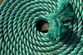 Coil of rope Royalty Free Stock Image