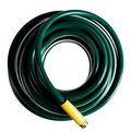 Coiled green garden hose Royalty Free Stock Photography