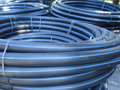 Coiled plastic tubes Royalty Free Stock Photo