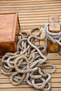 Coiled rope Royalty Free Stock Image