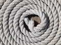 Coiled rope Royalty Free Stock Photo