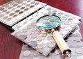 Coin Collection Royalty Free Stock Photo