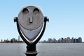 Coin-Operated Binoculars in New York Stock Images
