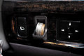 Coin slot in car Royalty Free Stock Photo