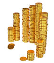 Coins euro money Royalty Free Stock Image