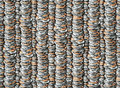 Coins pattern photo illustration of multiple stacks of u s Stock Images