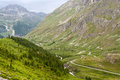 Col de l'Iseran (French Alps), at summer Royalty Free Stock Photo