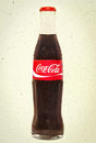 Cola Bottle - Vintage Royalty Free Stock Photo