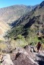The Colca Canyon Royalty Free Stock Photo