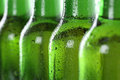 Cold beer in bottles beverage with alcohol Royalty Free Stock Photography