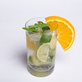 Cold drink on a hot summer day Royalty Free Stock Photos