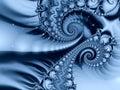 Cold Fractal Pattern