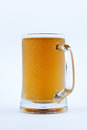Cold fresh beer in a mug Royalty Free Stock Photo
