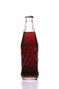 Cold glass of Coke bottle Royalty Free Stock Photo