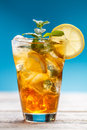 Cold ice tea Royalty Free Stock Photo