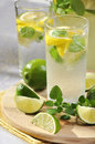 Cold lemonade Stock Image