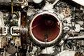 Submarine Torpedo Tube Royalty Free Stock Photo