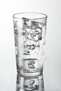Cold water glass Royalty Free Stock Photo
