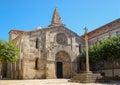 Colegiata de Santa María del Campo - La Coruna Royalty Free Stock Photo