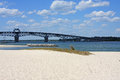 Coleman Bridge, Yorktown Royalty Free Stock Photo