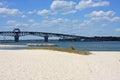 Coleman Bridge, Yorktown Royalty Free Stock Photo